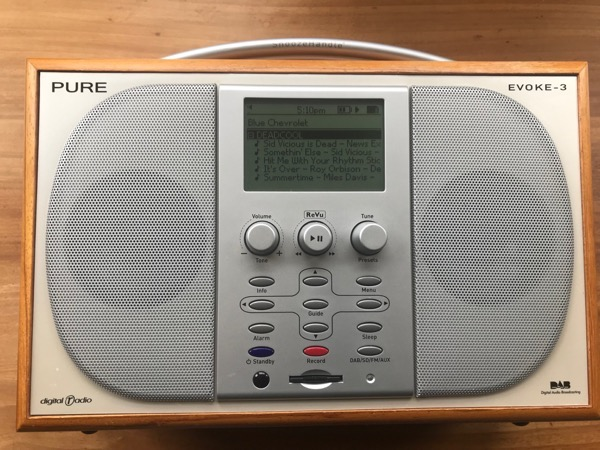 Evoke 3 Running MP3s