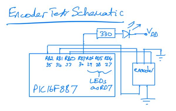 Encoder Test Schematic