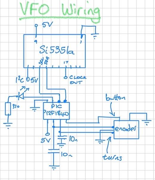 VFO Wiring
